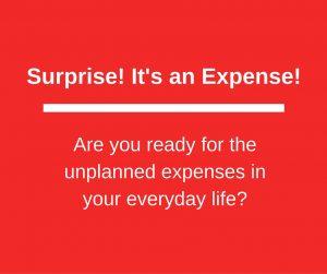 Surprise Expense