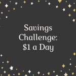 2017 Money Challenge – Save a Dollar a Day