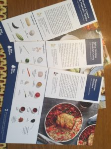 blue apron review recipes