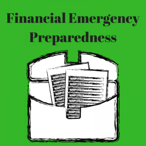 financial emergency preparedness