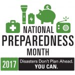 National Preparedness Month – Are You Ready?
