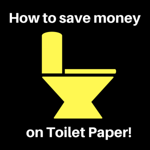 save money on toilet paper