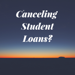canceling student loans