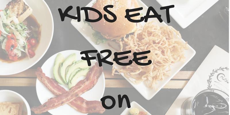 Where Do Kids Eat Free on Wednesdays?
