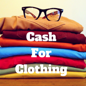 Cash for clothing