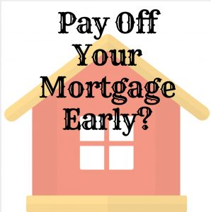 Pay mortgage early