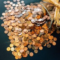 Stunning items with pennies