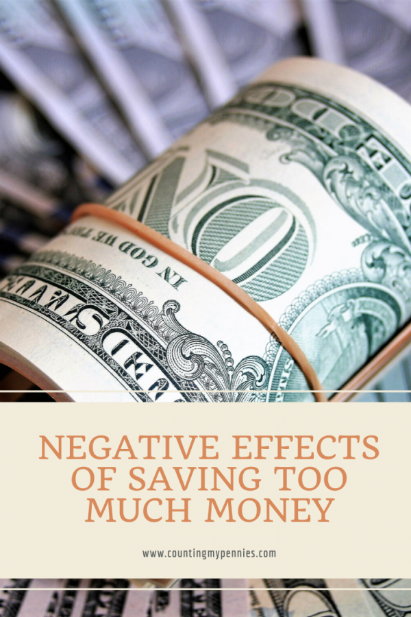 Negative Effects of Saving Too Much Money