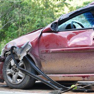 car accident rental car