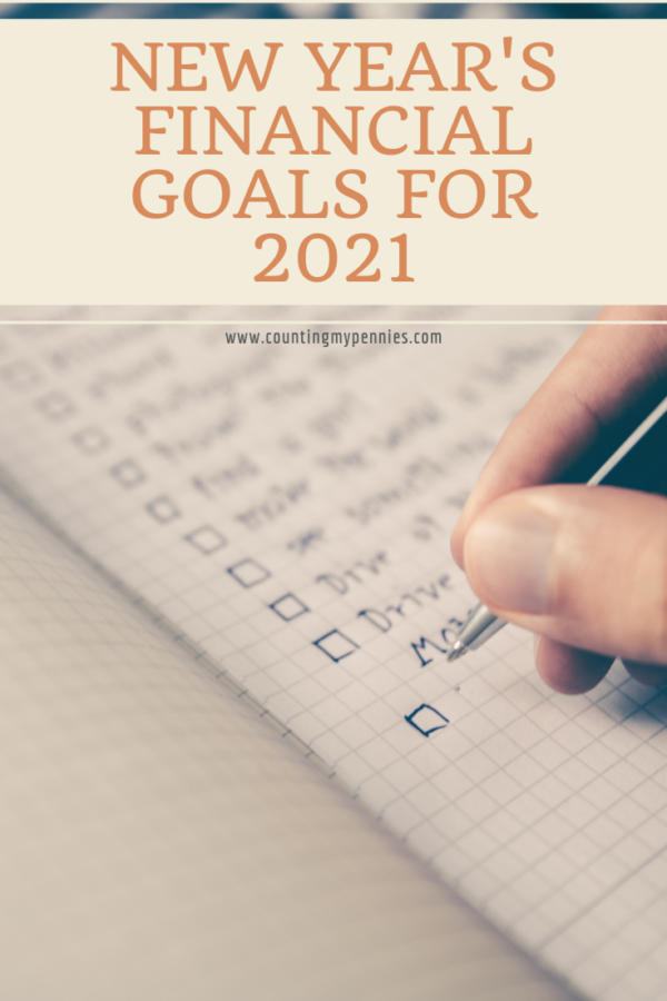 New Year's Financial Goals for 2021