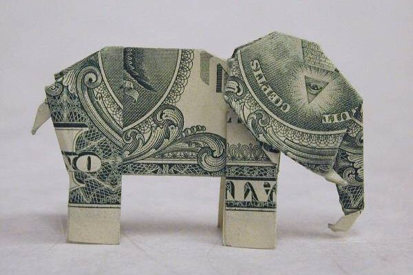 Cool Items Made From Coins and Bills
